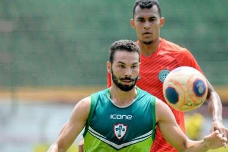 Portuguesa venceu o Guarani em jogo treino por 2 a 1 no Canindé (Foto:Divulgação)