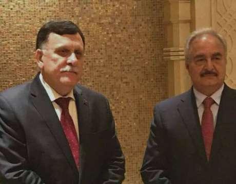 Alemanha fará cúpula sobre Líbia com Haftar e Al Sarraj