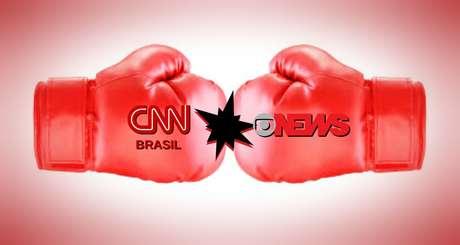 CNN Brasil vai enfrentar a tradição e o poder da GloboNews