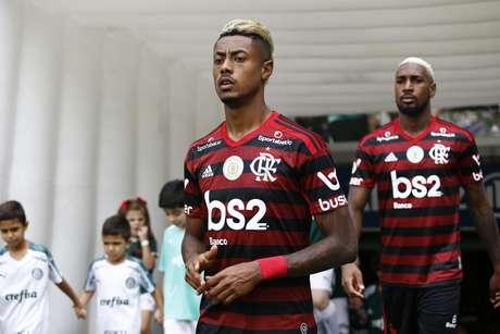 Bruno Henrique, atacante do Flamengo, e Gerson