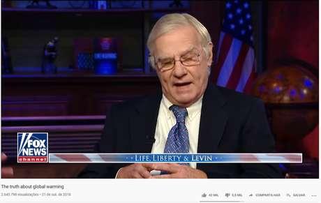 Vídeo de programa da rede americana de TV Fox News, também apontado pela Avaaz por conteúdo enganoso
