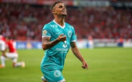 Michael foi um dos atletas mais elogiados pelo torcida do Goiás na temporada de 2019 (Foto: Raul Pereira/Fotoarena)