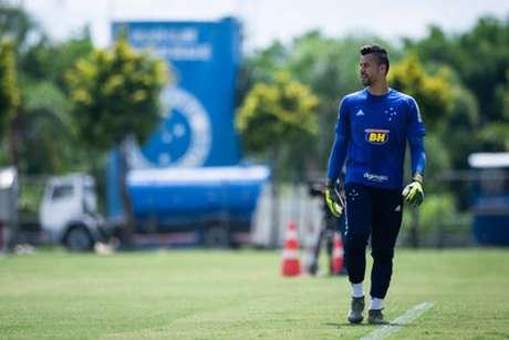 Fábio disse que o Cruzeiro fez muito por sua vida e fez apenas o que deveria fazer para ajudar o clube neste mau momento-(Vinnicius Silva/Cruzeiro)