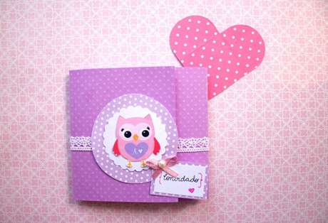 8. Convite de aniversário infantil da coruja – Foto: Elo7