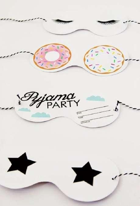 15. Convite de aniversário infantil para festa do pijama – Foto: A Minha Festa