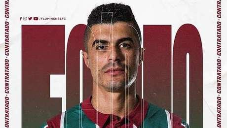 Egídio é o novo reforço do Fluminense