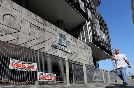 Fachada da Petrobras em meio a greve geral na empresa em 2019  14/06/2019 REUTERS/Sergio Moraes