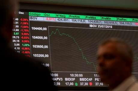 Bolsa de Valores de São Paulo  25/07/2019 REUTERS/Amanda Perobelli
