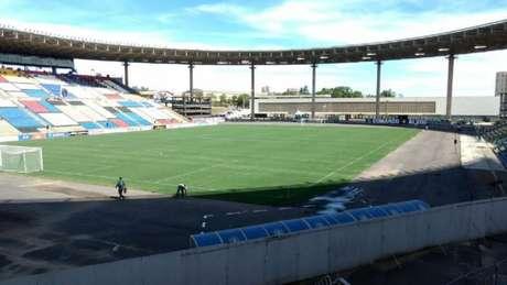 Estádio Kléber Andrade se tornou um palco frequente para partidas dos times cariocas (Foto: Felippe Rocha)