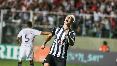 Guedes deixou saudade no Galo, ao marcar 13 gols em 28 jogos-(Bruno Cantini/Atlético)