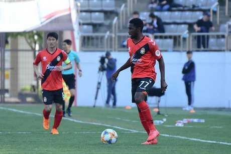 Negueba vem recuperando boa fase na Coreia, onde já marcou quatro gols (Foto:Divulgação)