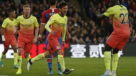 No 'turno', o City venceu o Palace por 2 a 0 (Foto: AFP)