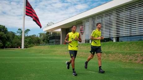 Reforços vão ser introduzidos à Nação (Foto: Foto: Alexandre Vidal / Flamengo)