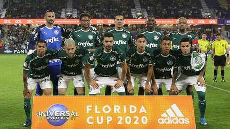 Palmeiras realiza sua última partida pela Florida Cup neste sábado (Cesar Greco/Agência Palmeiras/Divulgação)
