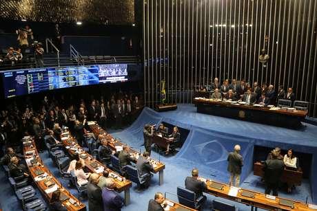 Votação do texto-base da Reforma da Previdência no Senado