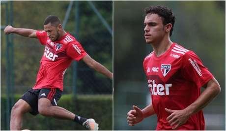 Fabinho e Danilo são novidades no elenco do São Paulo para 2020 - FOTO: Rubens Chiri/saopaulofc.net