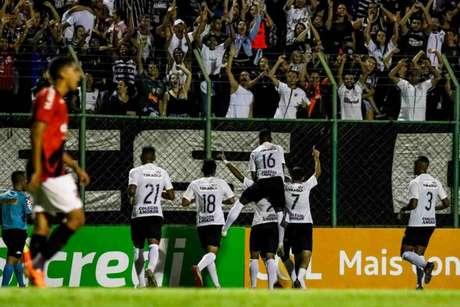 Daniel Marcos marcou o gol do Corinthians na Copinha (Foto:Reprodução/Twitter)