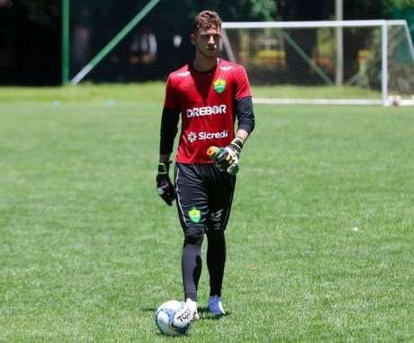 Capellari será goleiro do Corinthians nesta temporada (Foto:Reprodução)