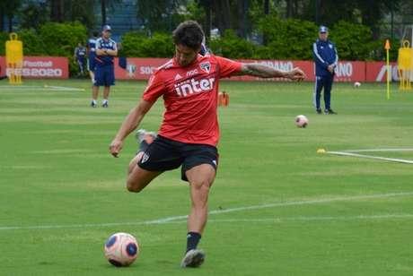 Alexandre Pato optou por ficar no São Paulo, apesar de oferta tentadora (Foto: Érico Leonan/São Paulo)