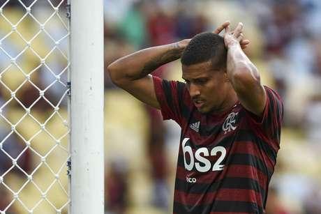 Vinícius Souza durante Macaé x Flamengo pela Taça Guanabara (Campeonato Carioca), no Maracanã, no Rio de Janeiro