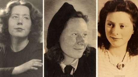 Hannie Schaft e as irmãs Truus e Freddie Oversteegen eram adolescentes quando os nazistas ocuparam a Holanda