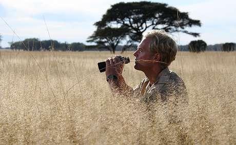 Tony Sinclair se recusou a sacrificar os gnus e preferiu confiar na natureza
