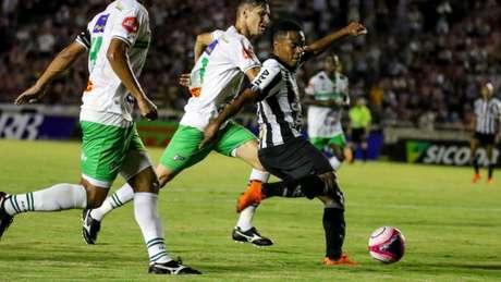 O último encontro entre as duas equipes aconteceu em 2018, com vitória do Galo no Parque do Sabiá-(Bruno Cantini / Atlético)