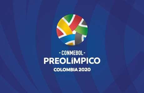 Logomarca do Pré-Olímpico de futebol, que acontece na Colômbia (Crédito: Reprodução)