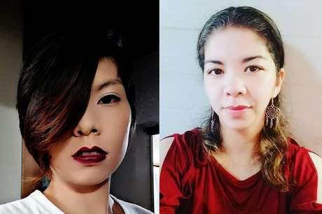 Emy Ueda (esq.) e Marina Yoko Hungria são duas das mães brasileiras que buscam um futuro melhor para os filhos no Japão