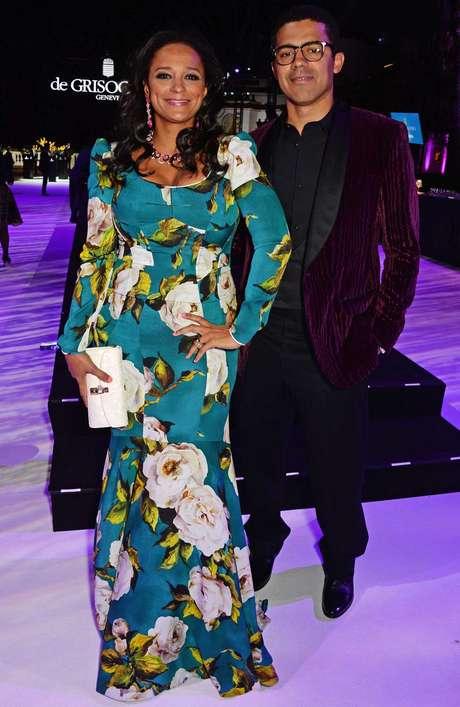 Isabel dos Santos e o marido Sindika Dokolo são vistos com frequência em tapetes vermelhos ao redor do mundo