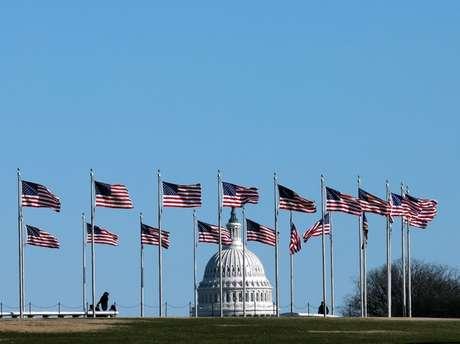 Edifício do Capitólio, em Washington 20/01/2020 REUTERS/Yuri Gripas