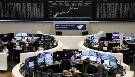 Bolsa de Valores de Frankfurt, Alemanha  21/01/2020 REUTERS/Staff