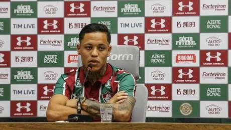Orinho briga por espaço no Fluminense (Foto: Divulgação/Lucas Merçon)
