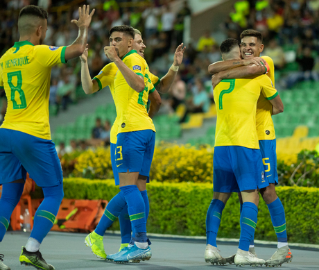 Brasil busca segunda vitória no Pré-Olímpico contra o Uruguai, netsa quarta-feira (Foto: Divulgação)