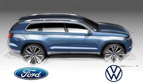 Um SUV raiz derivado das picapes Ford Ranger e VW Amarok vem aí.