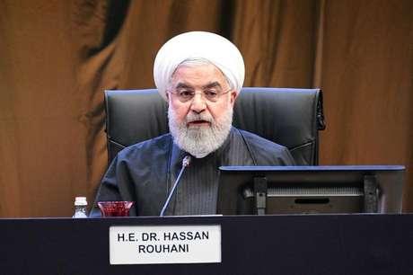 Presidente do Irã, Hassan Rouhani, em Kuala Lumpur 19/12/2019 Departamento de Informação da Malásia/Divulgação via REUTERS