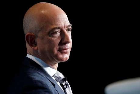 Jeff Bezos, presidente-executivo da Amazon, em conferência in Washington, EUA, 07/03/2017. REUTERS/Joshua Roberts/Foto de arquivo