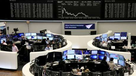 Bolsa de Valores de Frankfurt, Alemanha  22/01/2020 REUTERS/Staff
