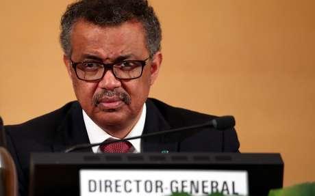 Diretor-geral da OMS, Tedros Adhanom Ghebreyesus 20/05/2019 REUTERS/Denis Balibouse