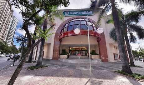 O shopping foi construído em um terreno que era o antigo estádio do clube, no bairro de Lourdes-(Divulgação/Diamond Mall)