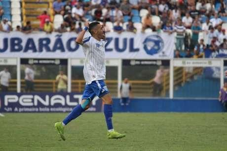 Thiaguinho se destacou durante a disputa da edição 2020 da Copinha pelo Avaí (Foto: Divulgação/Avaí)
