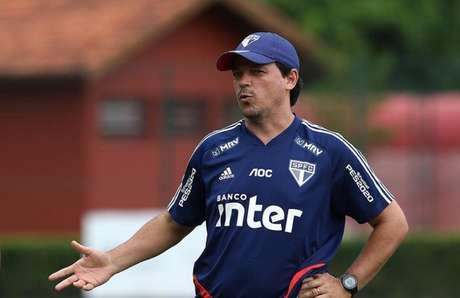 Fernando Diniz não estará no banco para a estreia do São Paulo na Liberta (Foto: Rubens Chiri/saopaulofc.net)