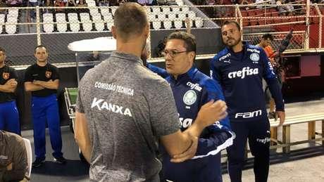 Luxemburgo foi bem no intrervalo e mudou o Palmeiras (Foto: Divulgação Twitter Ituano)