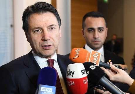 Giuseppe Conte discursaria em Davos nesta quinta-feira (23)