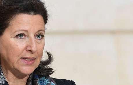 Ministra da Saúde da França, Agnes Buzyn 24/01/2020 Alain Jocard/Pool via REUTERS