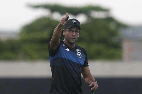 Alberto Valentim é o treinador do Botafogo (Foto: Vítor Silva/Botafogo)
