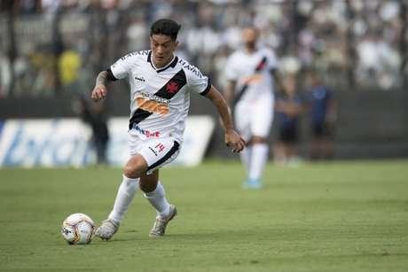 Germán Cano será titular no Vasco contra o Boavista (Foto: Jorge Rodrigues/Eleven/Lancepress!)