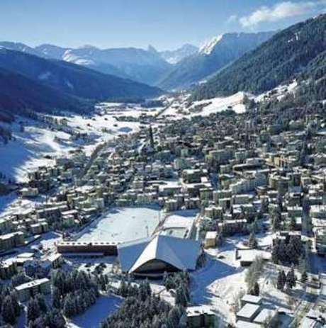 Davos, sede do Fórum Econômico Mundial.