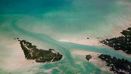 Kiribati também abriga a reserva marinha mais importante do Pacífico Sul