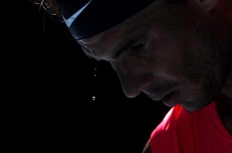 Rafael Nadal durante jogo contra Pablo Carreno Busta no Aberto da Austrália, Melbourne, Austrália. 25/01/2020 REUTERS/Edgar Su